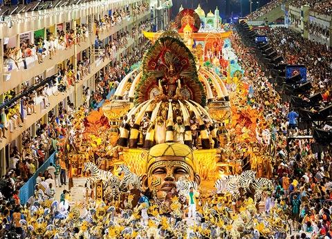 Rio de Janeiro et le plus beau Carnaval au Monde - 1