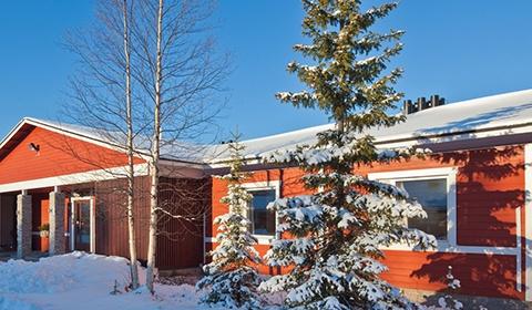 Lumière Laponie Kittila - Finlande - 1
