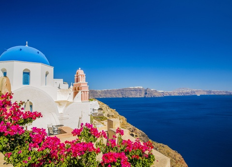 Combiné Cyclades 2 îles : Santorin, Naxos en 3* ou 4* - 1