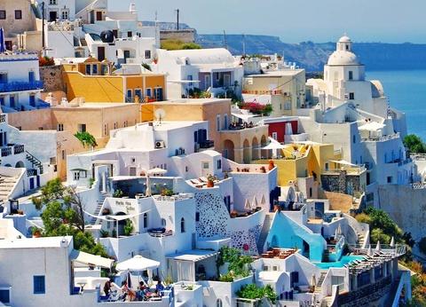 Combiné dans les Cyclades depuis Santorin - Santorin et Paros - Base 4* - 1