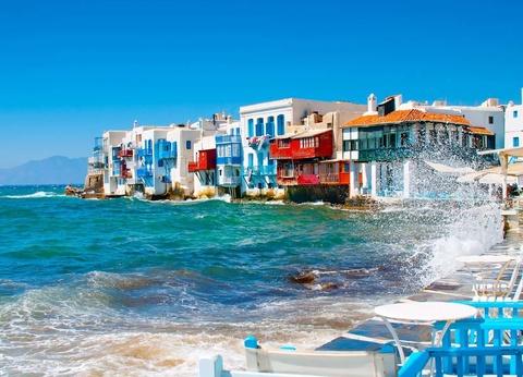 Périple dans les Cyclades depuis Athènes - Mykonos et Santorin en 3* - 1