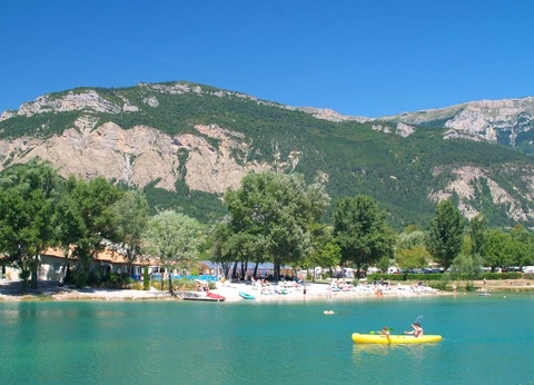 Chatillon en Diois - Camping Le Lac Bleu 3* - 1