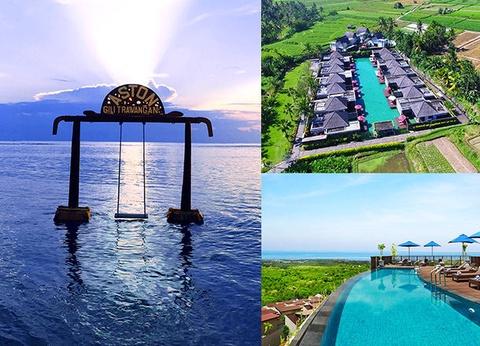 Combiné Ubud, île Gili Trawangan & Nusa Dua 4* - 1