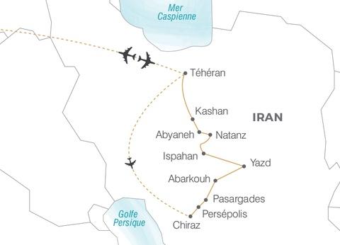 Circuit L'Iran, l'héritage de la Perse - 1