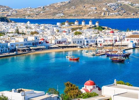 Combiné Cyclades 4 îles : Santorin, Naxos, Syros & Mykonos en 3* ou 4* - 1