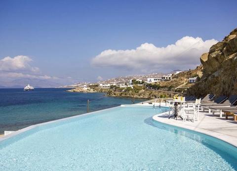 Hôtel Mykonos Beach 3* - arrivée Santorin - 1