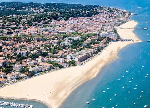 Vacances face à la mer, à Arcachon 3* - 1