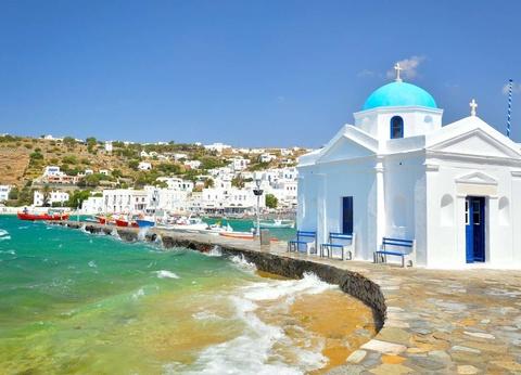 Périple dans les Cyclades depuis Santorin - Santorin et Mykonos en 4* - 1