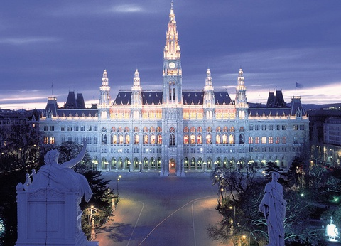 Réveillon à Vienne avec soirée du Nouvel An à l'hôtel de ville - Hôtel Max Brown 4* - Visites et repas inclus - 1