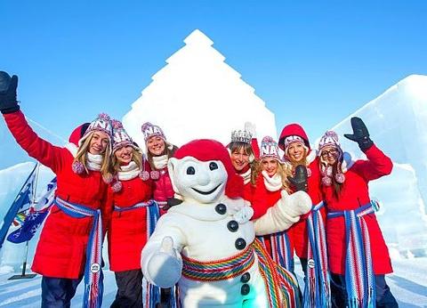 Canada multi-activités Hiver au Lac Blanc - Spécial Carnaval de Québec - 1