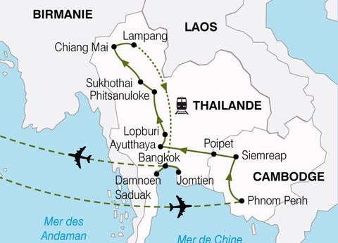 Circuit Cambodge et Thaïlande - 1