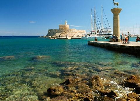 Combiné dans les îles du Dodécanèse - Rhodes et Symi - 1