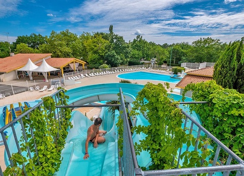 To sur Camping Lou Broustaricq, 4* - 1