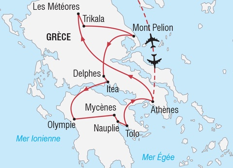 Saint Sylvestre aux Météores en Grèce - 1