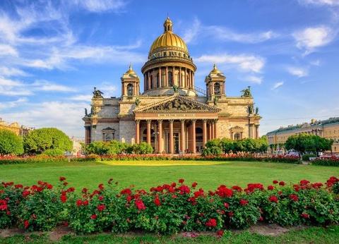 Circuit Moscou, l'Anneau d'Or et Saint Pétersbourg - 1