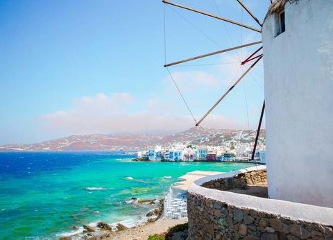 Combinés dans les Cyclades depuis Santorin - Santorin, Naxos et Mykonos en 4* - 1
