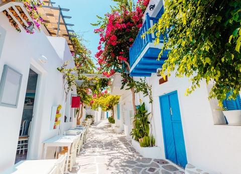 Combiné Cyclades 3 îles : Santorin, Naxos, Paros en 3* ou 4* - 1