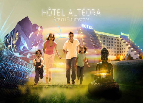 Futuroscope - Hôtel Altéora 3* - 1