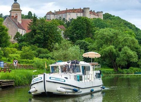La Petite Saône en bateau sans permis : Cités de caractère - 1
