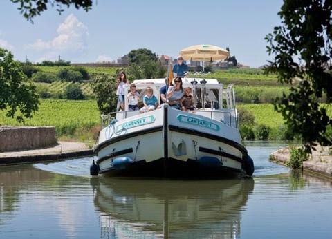Canal du Midi en bateau sans permis : Evasion en pays cathare - 1