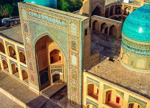 La Route de la Soie - Vols Uzbekistan Airways - Sens Ourguentch/Tachkent - 1