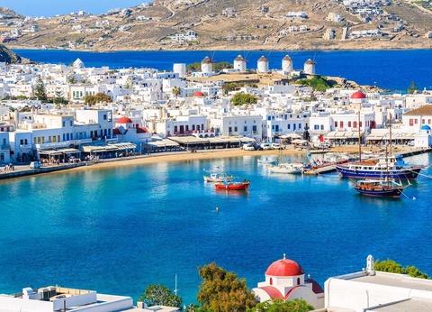 Combiné dans les Cyclades depuis Santorin - Santorin, Paros et Mykonos - Hôtels 3* - 1