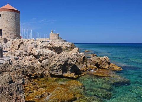 Périple depuis Rhodes 2 îles en 1 semaine - Rhodes et Patmos en 4* - 1