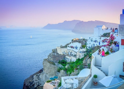 Combiné Santorin/Naxos/Santorin en hôtels 4* - 6 nuits - 1