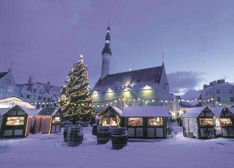Marchés de Noël à Tallinn Hôtel 4* - 1