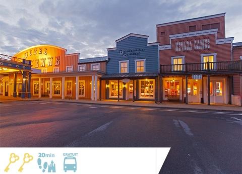 Disney's Hôtel Cheyenne - Jusqu'à -35% sur votre séjour + séjour offert pour les moins de 12 ans! - 1