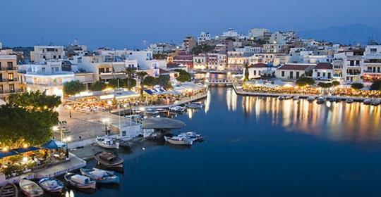 Circuit au coeur de la crete avec extension au top clubs for Santorin sejour complet