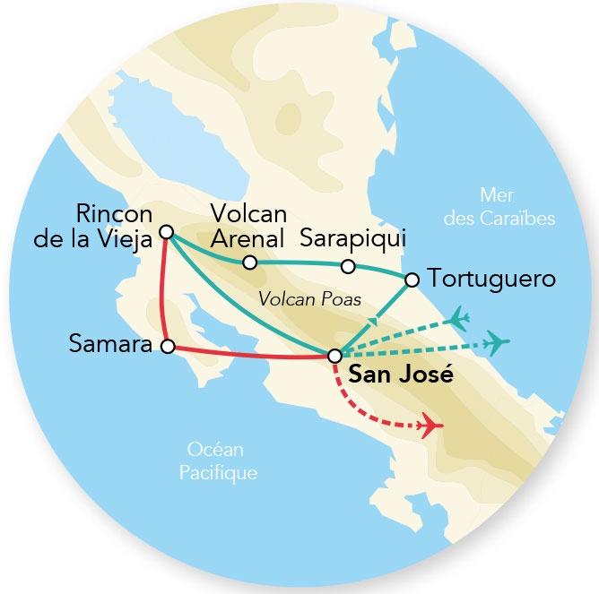 Costa Rica - Circuit Splendeurs du Costa Rica et extension Samara