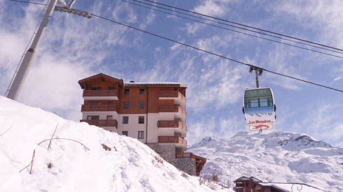 France - Alpes - Les Ménuires - Résidence Les Chalets de l'Adonis