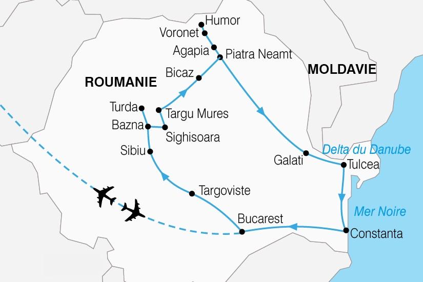 Roumanie - Circuit Carpates Roumaines et Delta du Danube