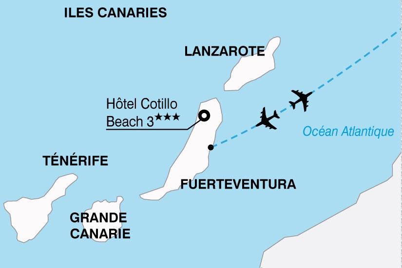 Canaries - Fuerteventura - Espagne - Hôtel Cotillo Beach 3*