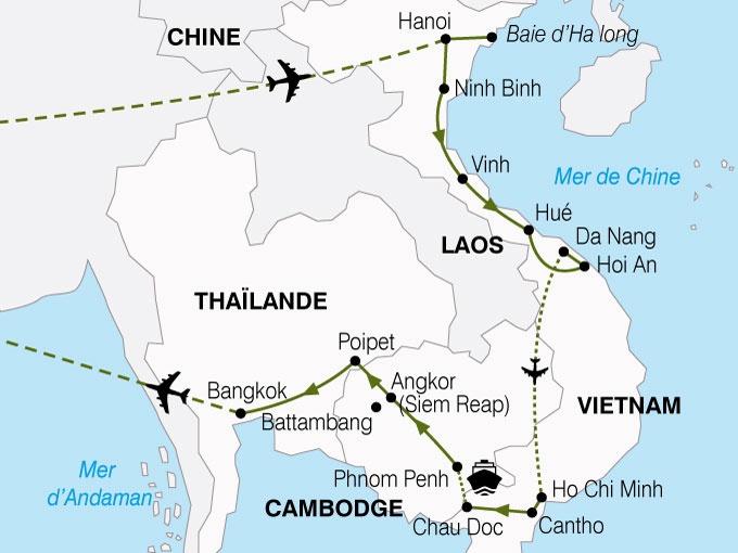 Cambodge - Vietnam - Circuit Vietnam et Cambodge Richesses du Mékong - Vols Air France
