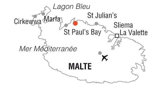 Malte - Hôtel Salini Resort 4*