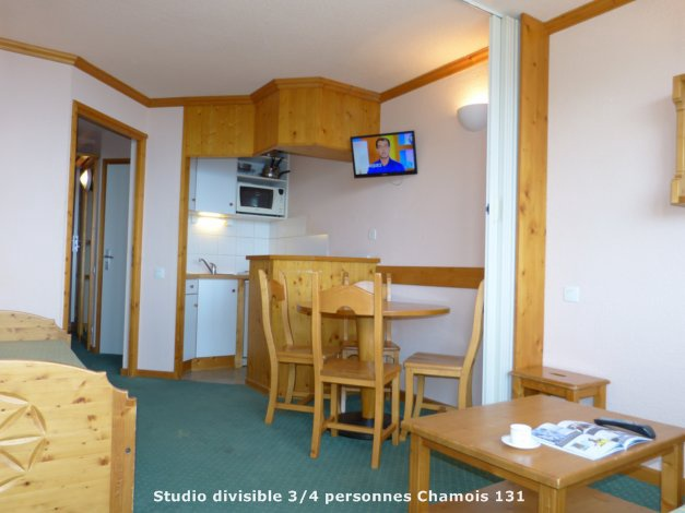 France - Alpes - La Plagne - Plagne Aime 2000 - Skissim Classic - Appartement Vue Mont Blanc