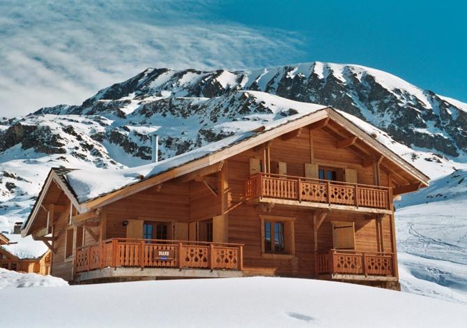 France - Alpes - Alpe d'Huez - Les Chalets de L'Altiport