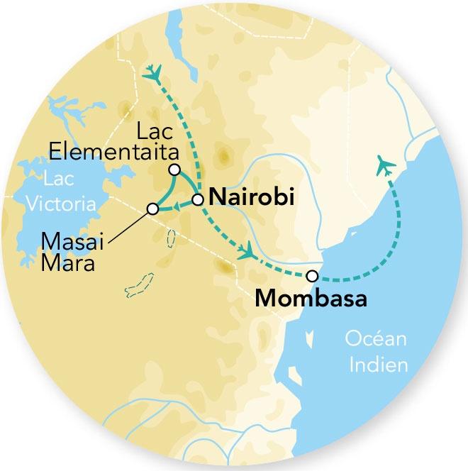 Kenya - Circuit Splendeurs du Kenya - Départs 2018