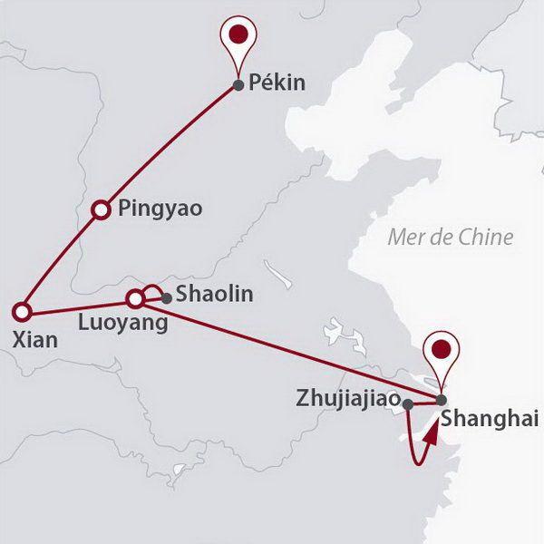 Chine - Circuit Dragons de Chine
