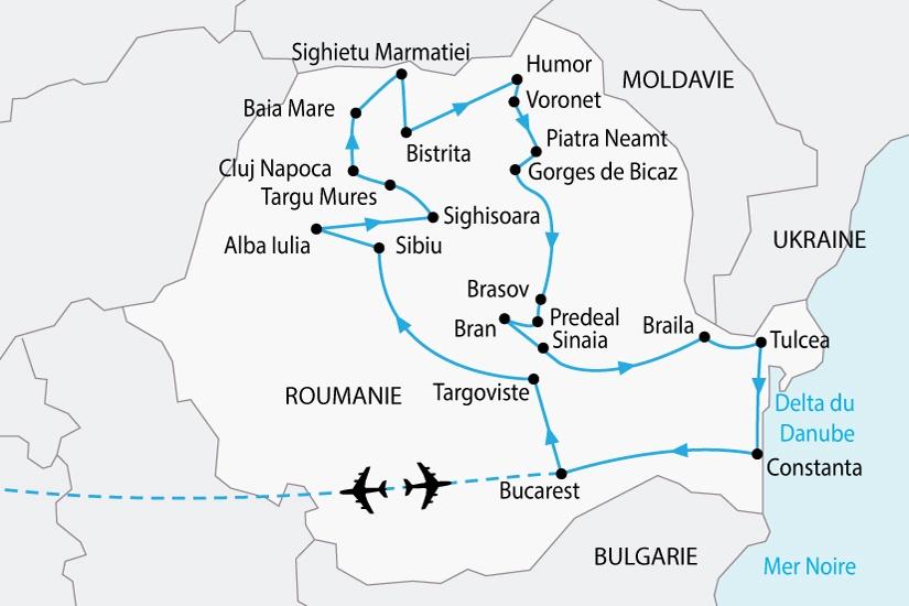 Roumanie - Circuit Le Grand Tour de Roumanie