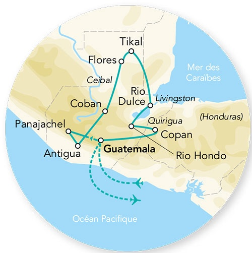 Guatemala - Honduras - Circuit Splendeurs du Guatemala et Honduras