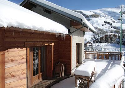 France - Alpes - Les Deux Alpes - Chalet Le Marmotton