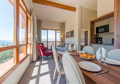 Appart 39 hotel les souverains les arcs alpes france avec for Appart hotel alpes
