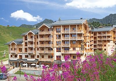 France - Alpes - La Plagne - Plagne Villages - Résidence Odalys Prestige Front de Neige
