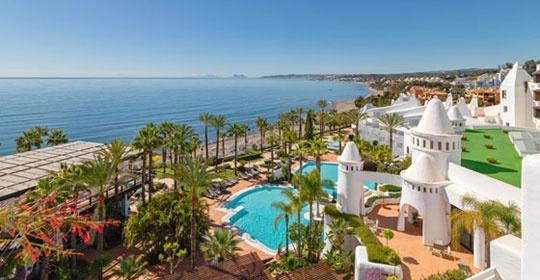 hotel h10 estepona palace 4 estepona andalousie espagne avec voyages leclerc top of travel. Black Bedroom Furniture Sets. Home Design Ideas
