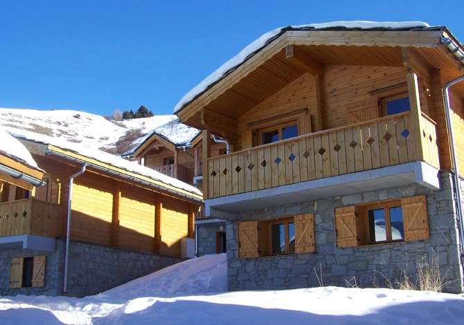 France - Alpes - Valmeinier - Chalets Hedena Le Grand Panorama