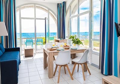 residence valentin plage batz sur mer atlantique nord france avec voyages leclerc odalys. Black Bedroom Furniture Sets. Home Design Ideas