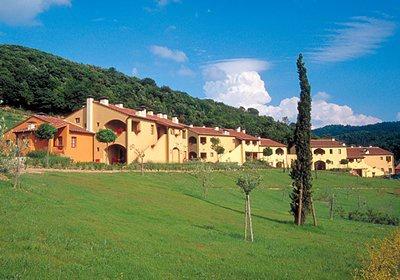 Italie - Toscane - Montaione - Résidence Borgoiano